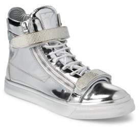 Giuseppe Zanotti Leather High-Top Sneakers