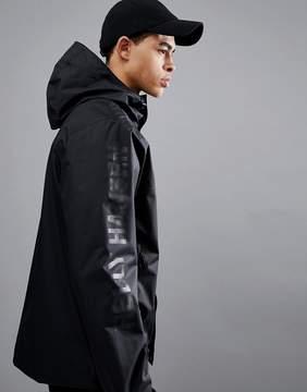 Helly Hansen Ervik Jacket With Sleeve Logo In Black
