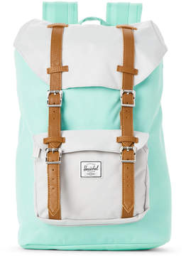 Herschel Mint & Grey Shadow Little America Backpack