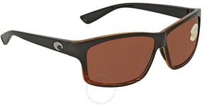 Costa del Mar Cut Copper Wrap Sunglasses UT 52 OCP