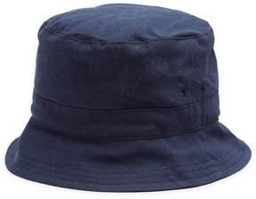 Thom Browne Logo-patch cotton bucket hat
