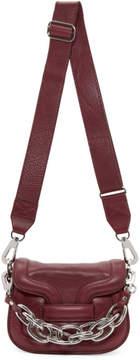 Pierre Hardy Burgundy Micro Chain Bag