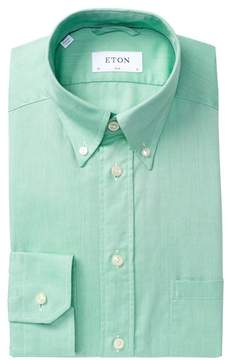 Eton Solid Slim Fit Dress Shirt
