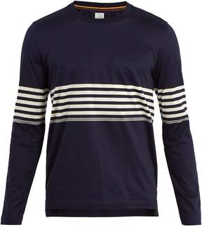 Paul Smith Striped long-sleeved crew-neck T-shirt