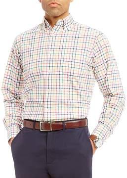 Daniel Cremieux Graphc Check Lightweight Oxford Long-Sleeve Woven Shirt