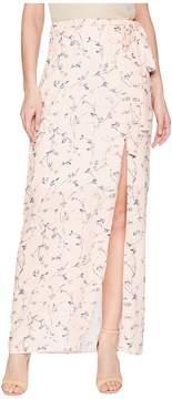 J.o.a. High Slit Maxi Skirt Women's Skirt