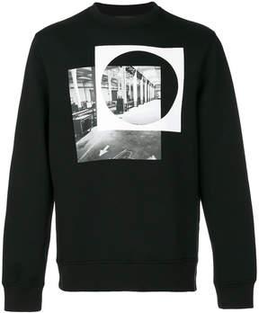 Diesel Black Gold circle print sweatshirt