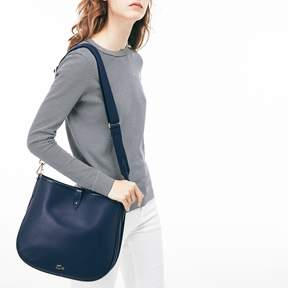 Lacoste Women's Chantaco Pique Leather Hobo Bag
