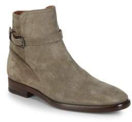Frye Wright Jodhpur Suede Ankle Boots
