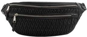 MANGO Zip-detail texture belt bag