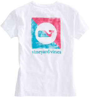 Vineyard Vines Girls Painted Burgee Tee