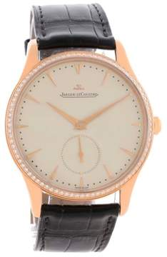 Jaeger-LeCoultre Jaeger Lecoultre Master Q1352502 18K Rose Gold & Diamond 40mm Mens Watch