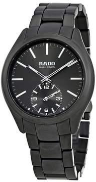 Rado HyperChrome Dual Time XL Grey Dial Men's Watch