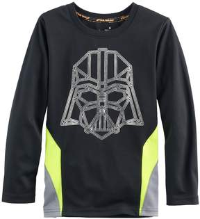 Disney Boys 4-7x Star Wars a Collection for Kohl's Darth Vader Metallic Graphic Tee