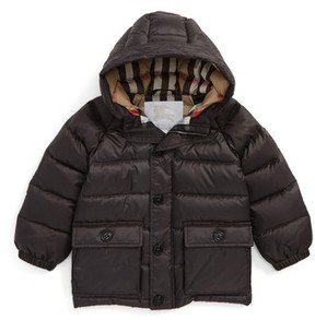 Burberry Toddler Boy's Lachlan Hooded Down Jacket