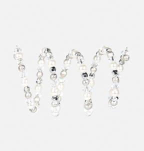Avenue Faux Pearl Coil Stretch Bracelet