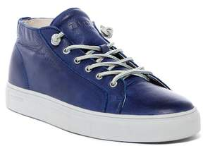 Blackstone Leather Mid Sneaker