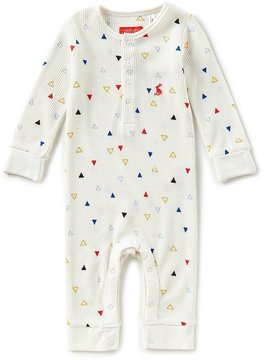 Joules Baby Boys Newborn-12 Months Webley Triangle-Print Coverall