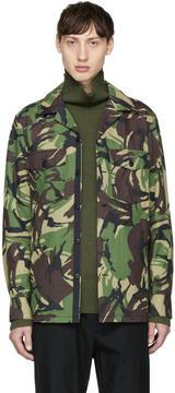 Rag & Bone Green Camo Heath Jacket