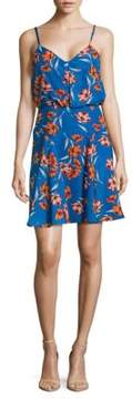 Cynthia Steffe Floral Sleeveless Dress