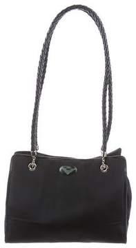 Bottega Veneta Vintage Nylon Shoulder Bag