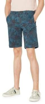 MANGO Printed Bermuda Shorts