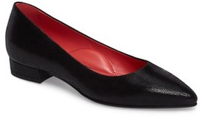 Pas De Rouge Women's Pointy Toe Low Pump