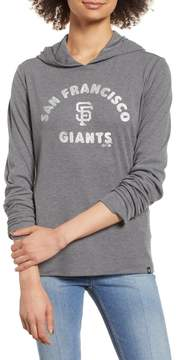 '47 Campbell San Francisco Giants Rib Knit Hooded Top