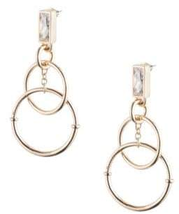 Eddie Borgo Baguette Eclipse Earrings