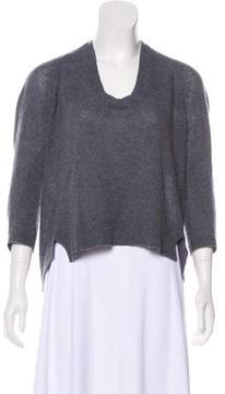 Inhabit Cashmere High-Low Sweater