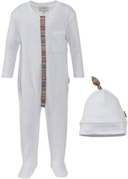 Paul Smith White Babygrow And Hat Set