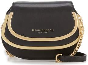 Donna Karan Round-Hardware Cross-Body Bag