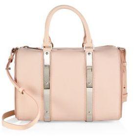 Sophie Hulme Charlton Leather Bowling Bag