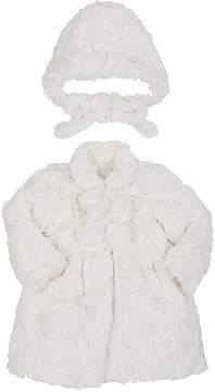 Isabel Garreton Faux Fur Coat & Hat Set