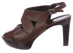 Marni Cutout Slingback Sandals