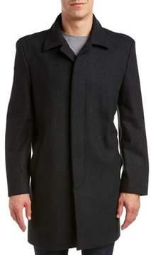 Hart Schaffner Marx Topper Wool-blend Coat.
