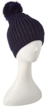 Jocelyn Navy Knit Hat.