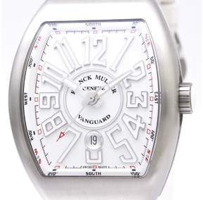 Franck Muller Vanguard V45SCDT Stainless Steel Automatic 44mm Mens Watch