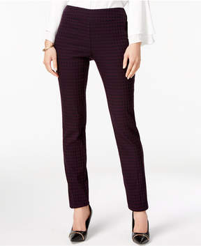 Alfani Jacquard Pull-On Pants, Created for Macy's