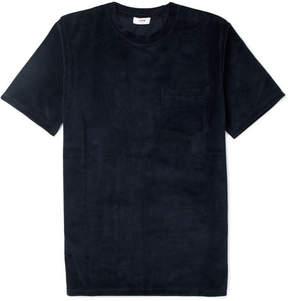 Cmmn Swdn Bren Cotton-Blend Velvet T-Shirt