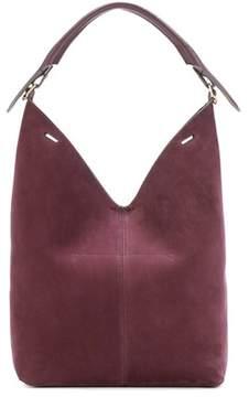 Anya Hindmarch The Bucket Circle suede shoulder bag