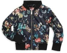 Urban Republic Little Girl's Printed Zip Jacket