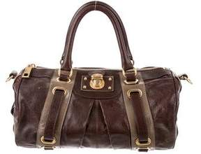 Marc Jacobs Bicolor Leather Satchel