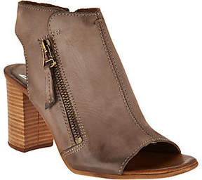 Miz Mooz As Is Leather Block Heel Sandals - Summer