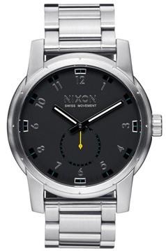 Nixon Men's 'The Patriot' Bracelet Watch, 45Mm