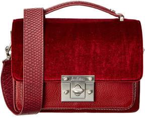 Sam Edelman Gessica Velvet Shoulder Bag
