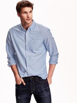Old Navy Slim-Fit Oxford Shirt For Men