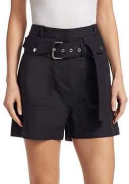 3.1 Phillip Lim Hi-Rise Belted Pocket Shorts