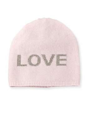 Portolano Boyfriend Love Cashmere Knit Beanie Hat