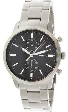 Fossil Townsman Chronograph Black Dial Men's Watch FS5349